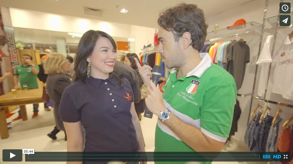 Video: Inauguração Polo UK - Park Shopping Barigui