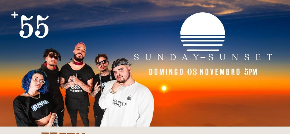 Poesia Acústica no Sunday Sunset +55