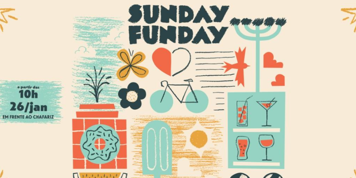Domingo de manhã ao ar livre no Sunday Funday no ParkShoppingBarigüi