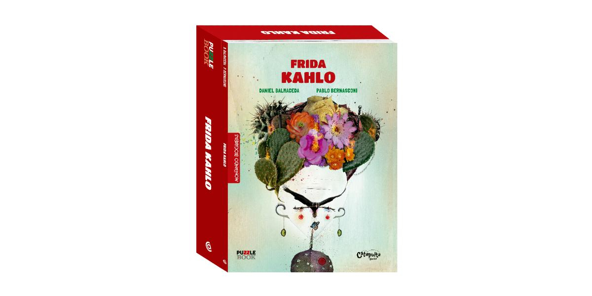 Must have: puzzle book da Frida Kahlo