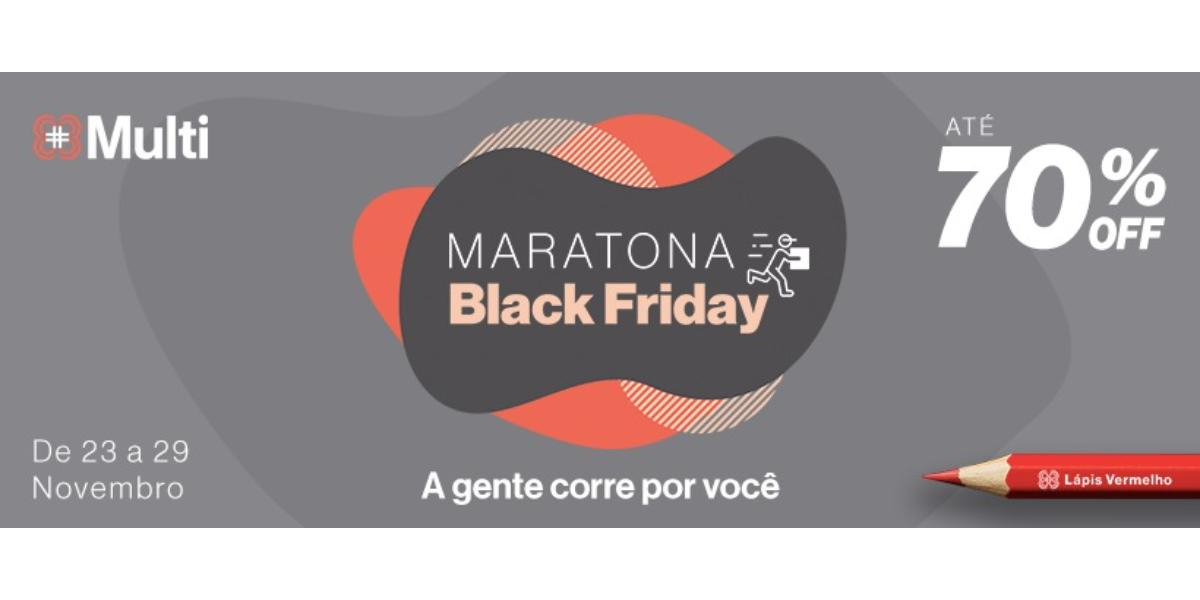 Maratona de ofertas de Black Friday no superapp Multi do ParkShoppingBarigui